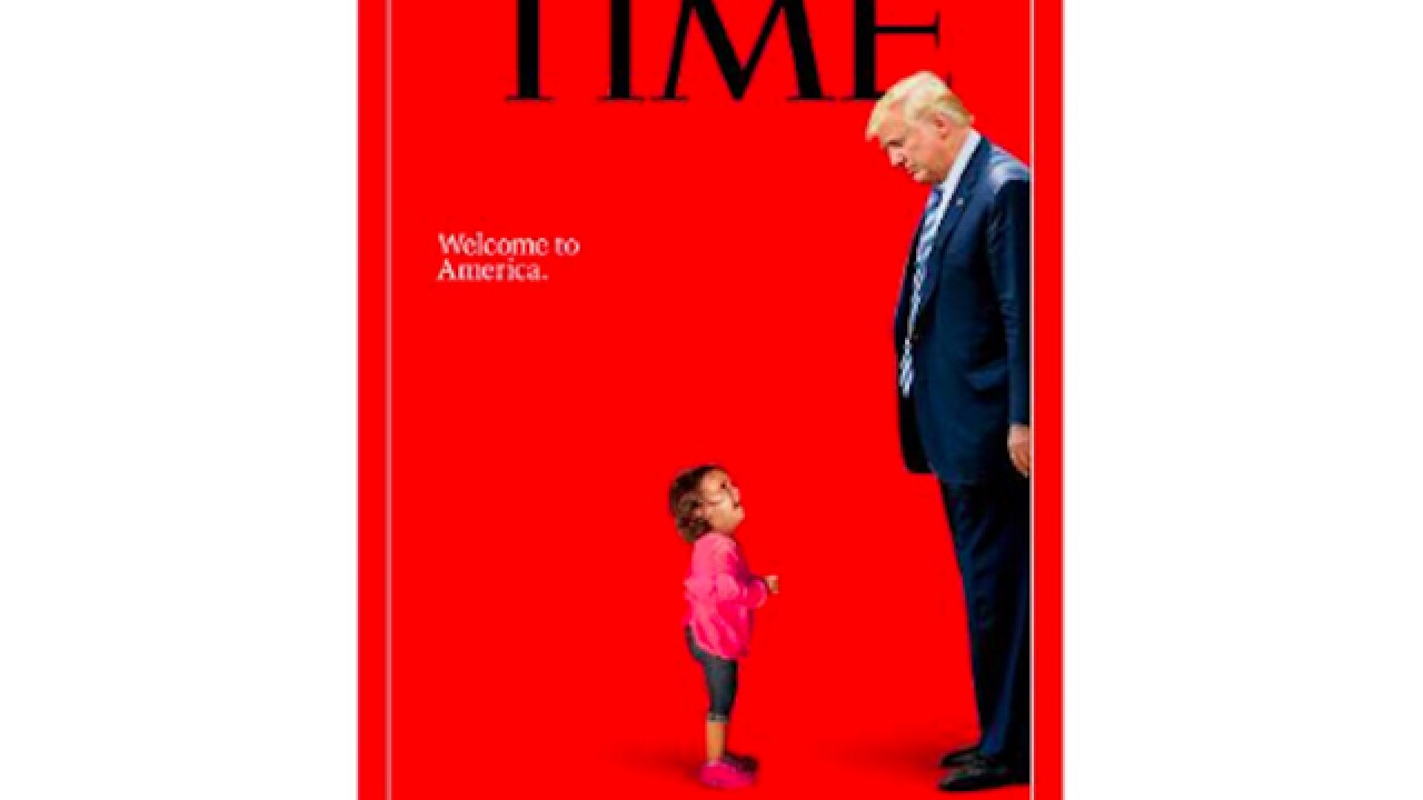 TIME magazine cover, coming in July, highlights border immigration issues