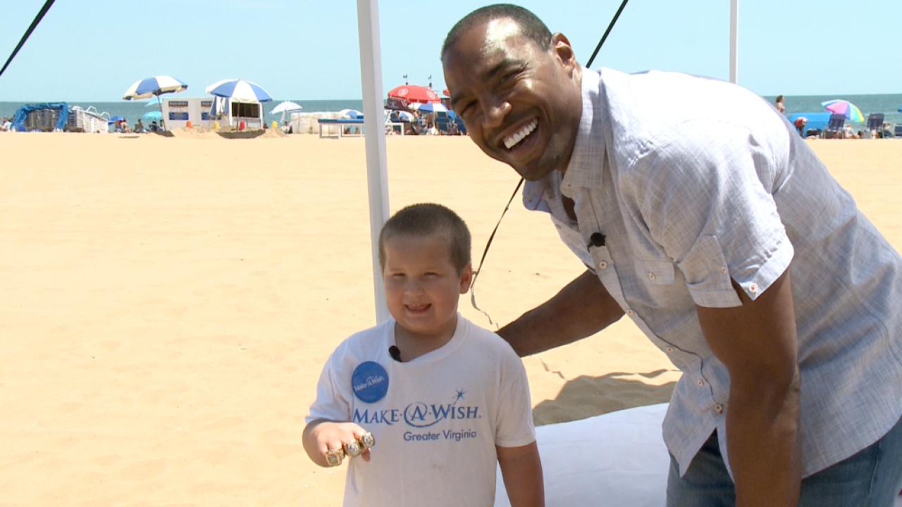 Cowboys legend Darren Woodson takes part in Make-A-Wish meetup in Virginia Beach
