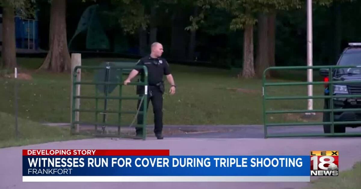 Police: 1 killed, 2 wounded in Frankfort park shooting