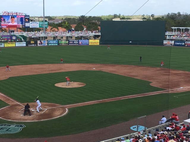 Spring Training: Cardinals at Twins in Fort Myers