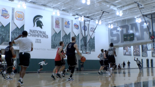 Spartans embracing target as they begin official practices with high expectations
