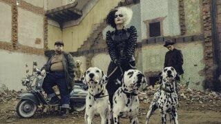 Disney reveals Emma Stone's new look as a punk rock Cruella de Vil