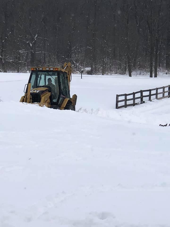 Heavy duty snow removal