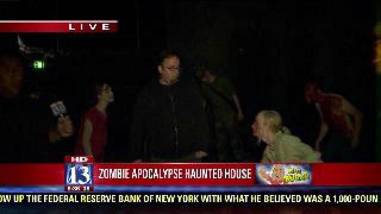 Zombies take down Budah's tour guide