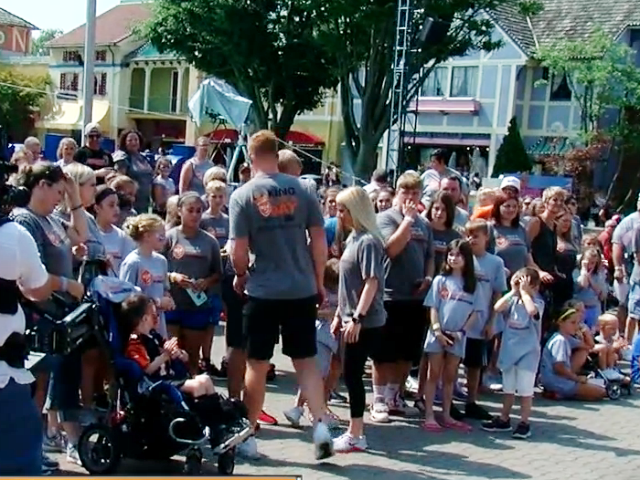 Andy Dalton makes 40 kids 'King For A Day'