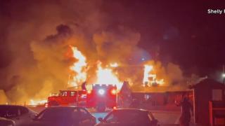 Mt. Charleston Lodge fire