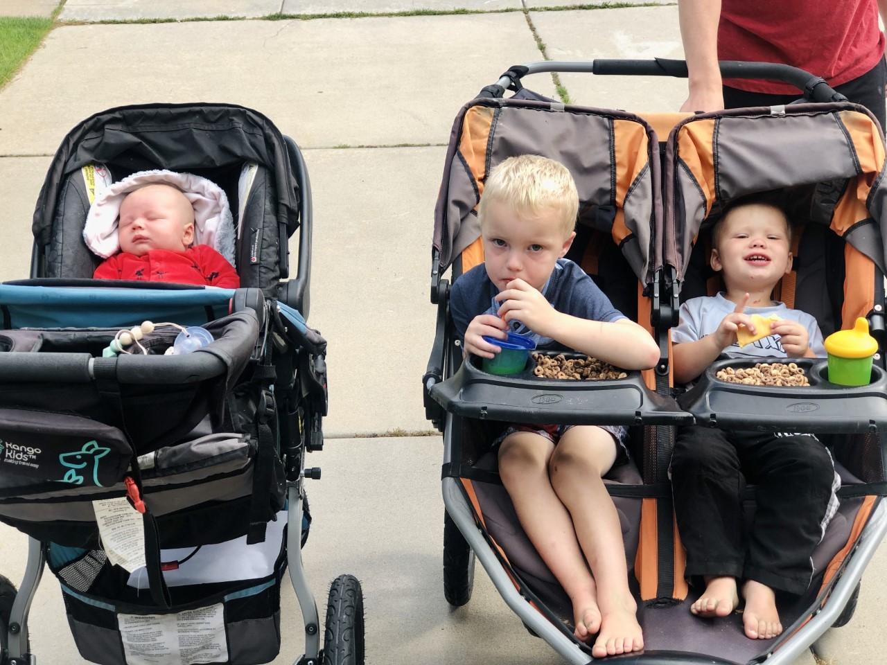 Baby and Baby Three: Walks