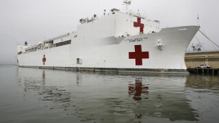 U.S. Navy hospital ship heading to NYC for coronavirus aid