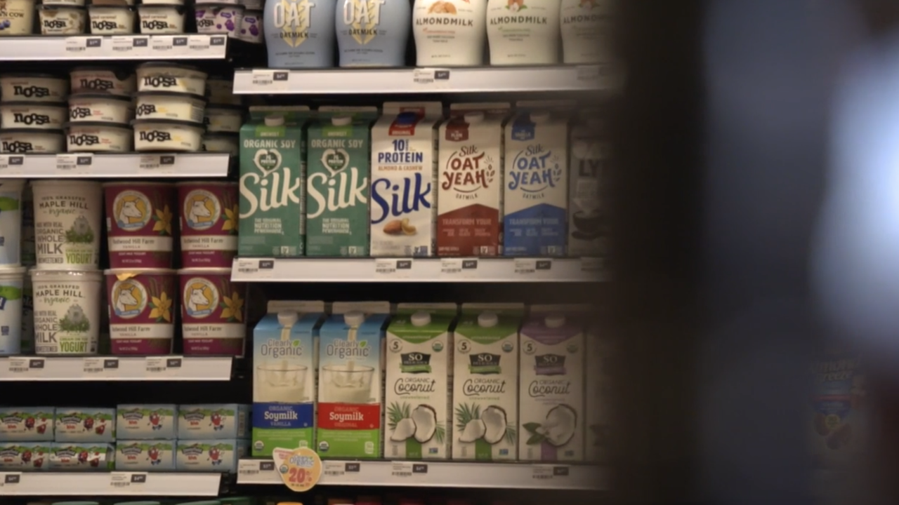 Plant-based milk sales boom as traditional milk processing plants file for bankruptcy