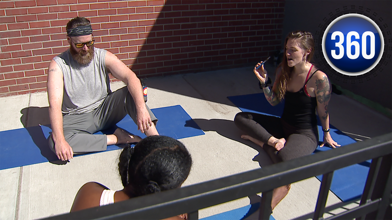 Inhale and exhale: Coloradans experimenting with social marijuana yoga studios