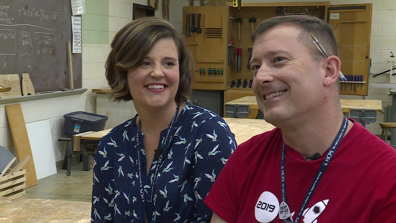 This dynamic duo gives Godwin students the 'mom and dad' treatment