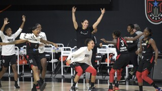 APTOPIX Sun Aces Basketball