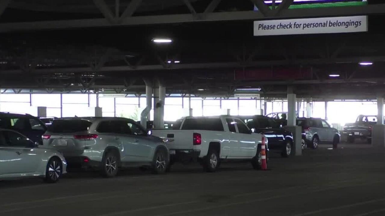 Business booms at Bozeman Yellowstone International Airport new parking garage.