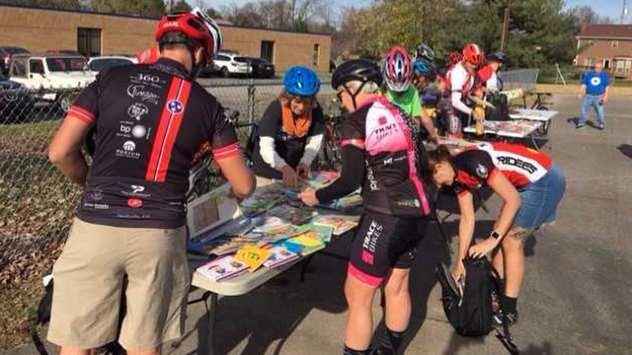 Nonprofit Delivers Hundreds Of Books By Bicycles