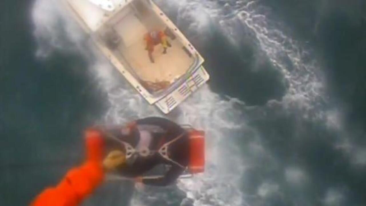 Surfer rescued by Coast Guard helicopter after shark attack says he plans to keep riding waves