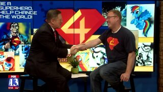 3 Questions with Bob Evans: Superheroes artist and Walmart cashier, Glenn Stucki