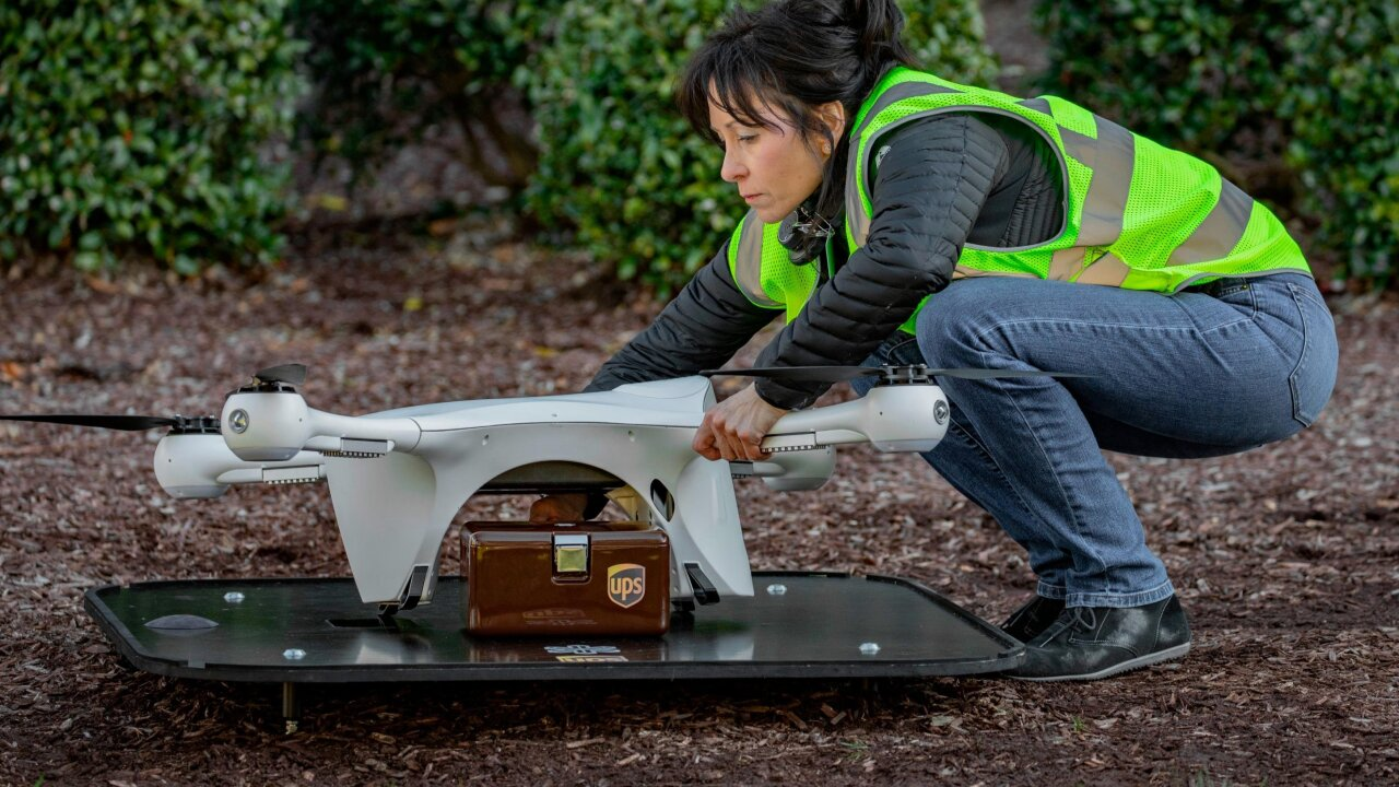 UPS broke into drone deliveries, shuttling medical samples in North Carolina. Now it's ready to take off