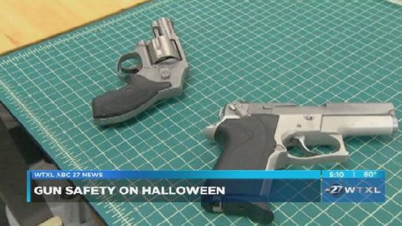 LCSO gives tips on gun safety for Halloween
