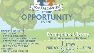 Evangeline recruitment event.PNG