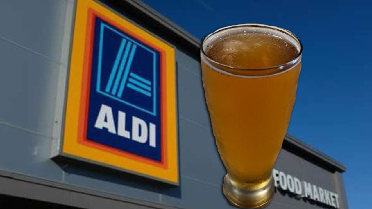 ALDI offering beer, wine delivery to your home