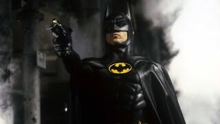 Michael Keaton in scene from 1989 'Batman' movie