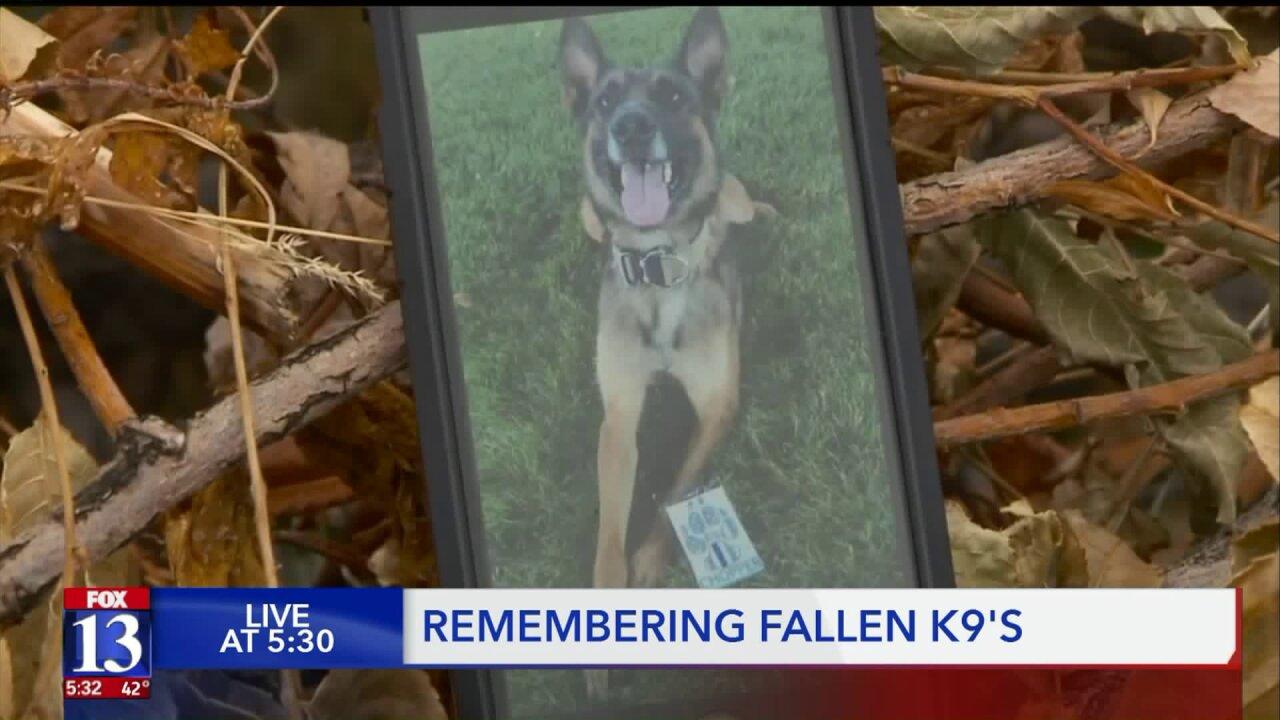 Difficulty of a K9 death: As Davis Co. arranges funeral, UPD handler reflects onloss