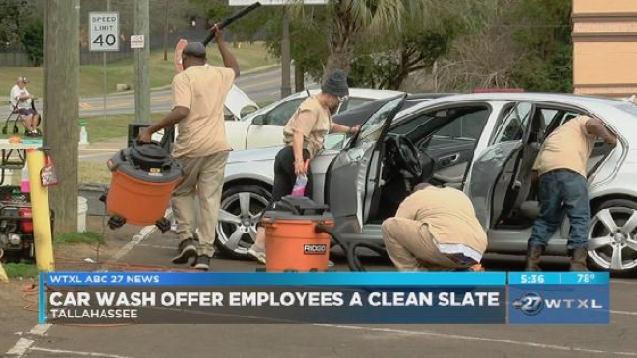 Local Car Wash >> Local Car Wash Offers Employees Clean Slate