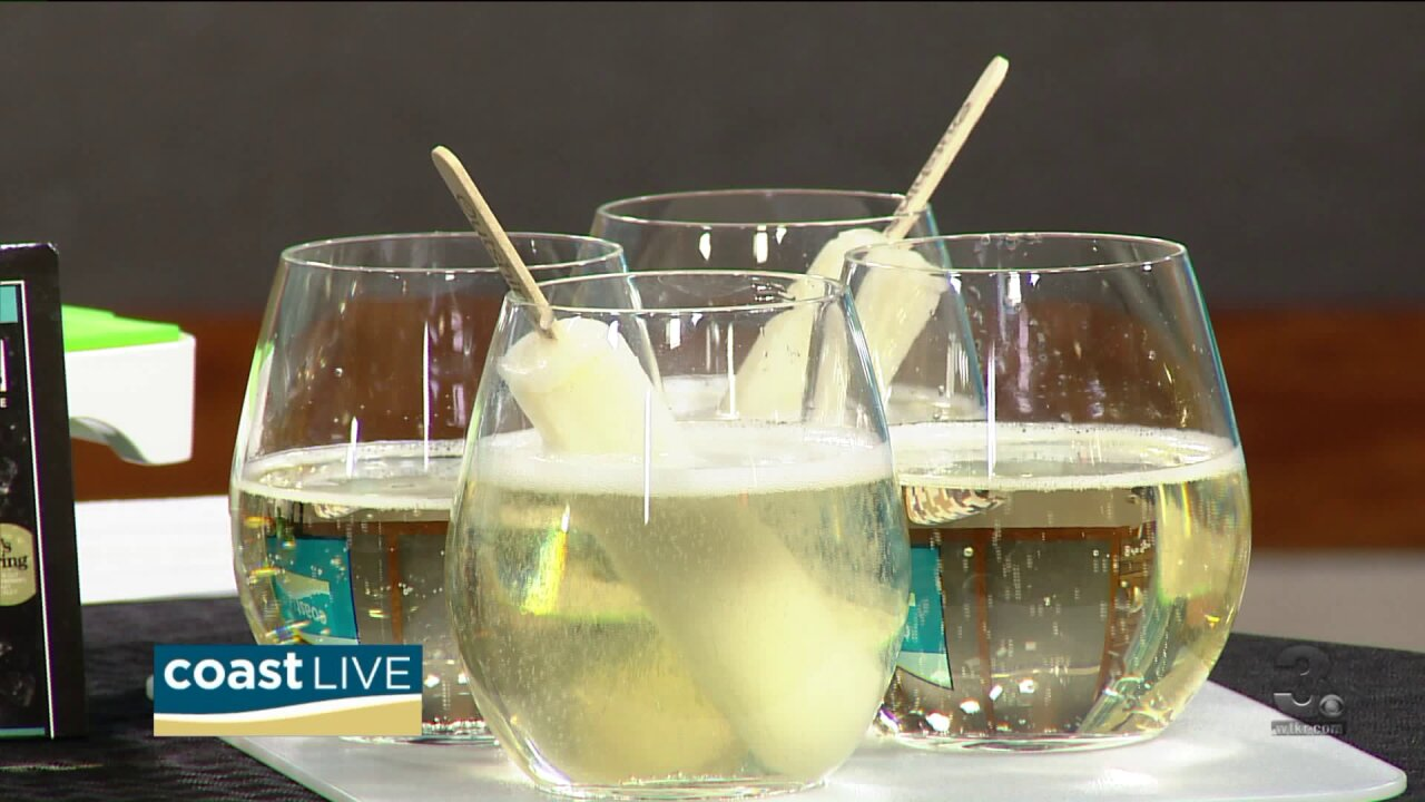 Chef Patrick shows us how to make white sangria pop and a special brunch spread on CoastLive