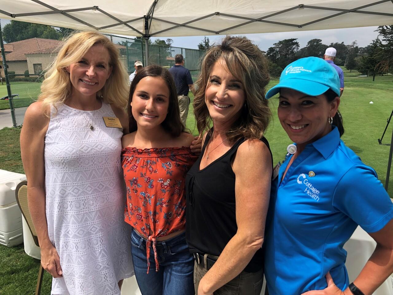 From left: Kristen, Faith, Laura, Ann