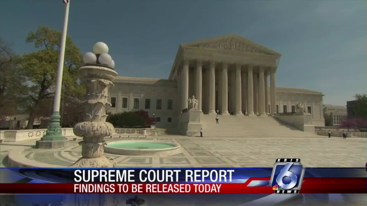 Report coming about potential changes in U.S. Supreme Court