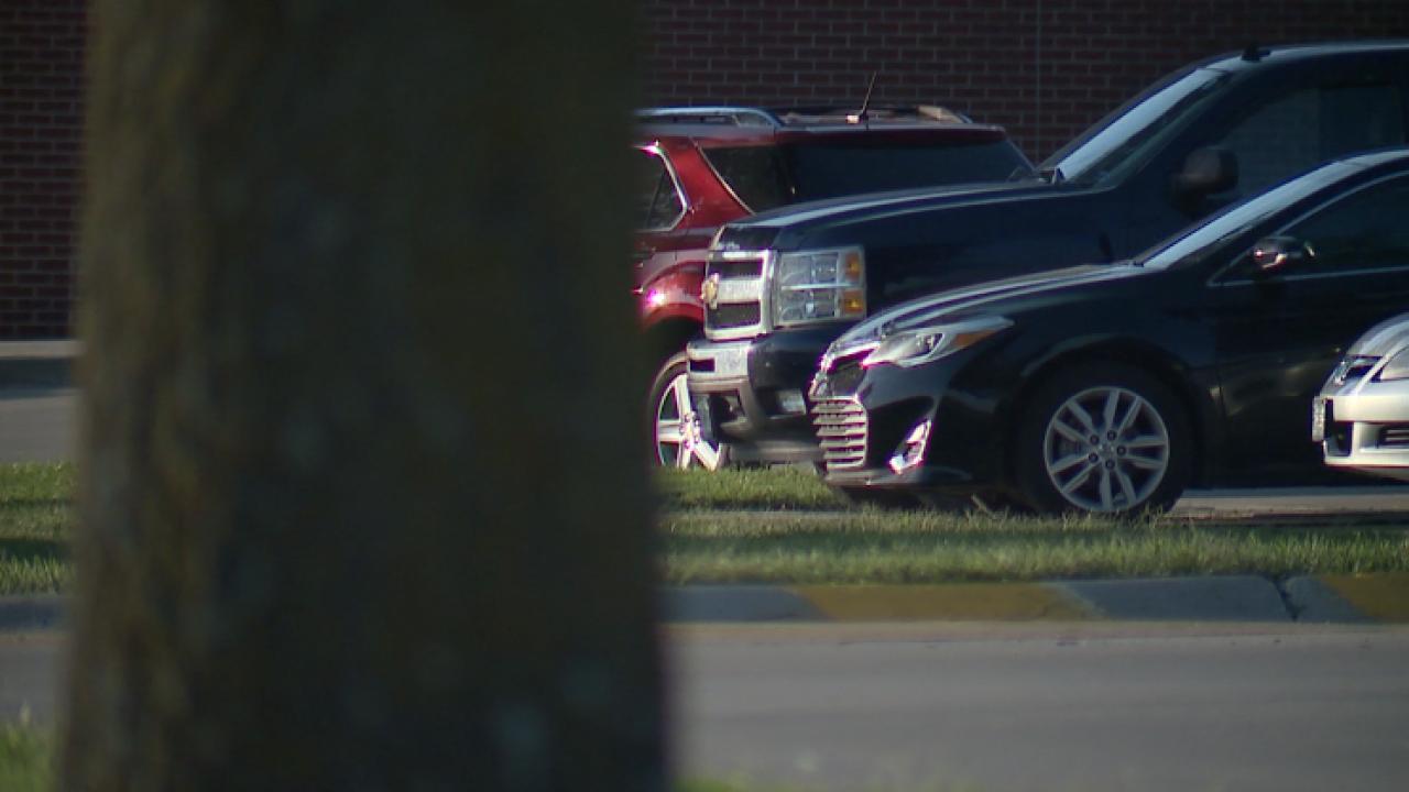 Smithville drug testing parking lot.png
