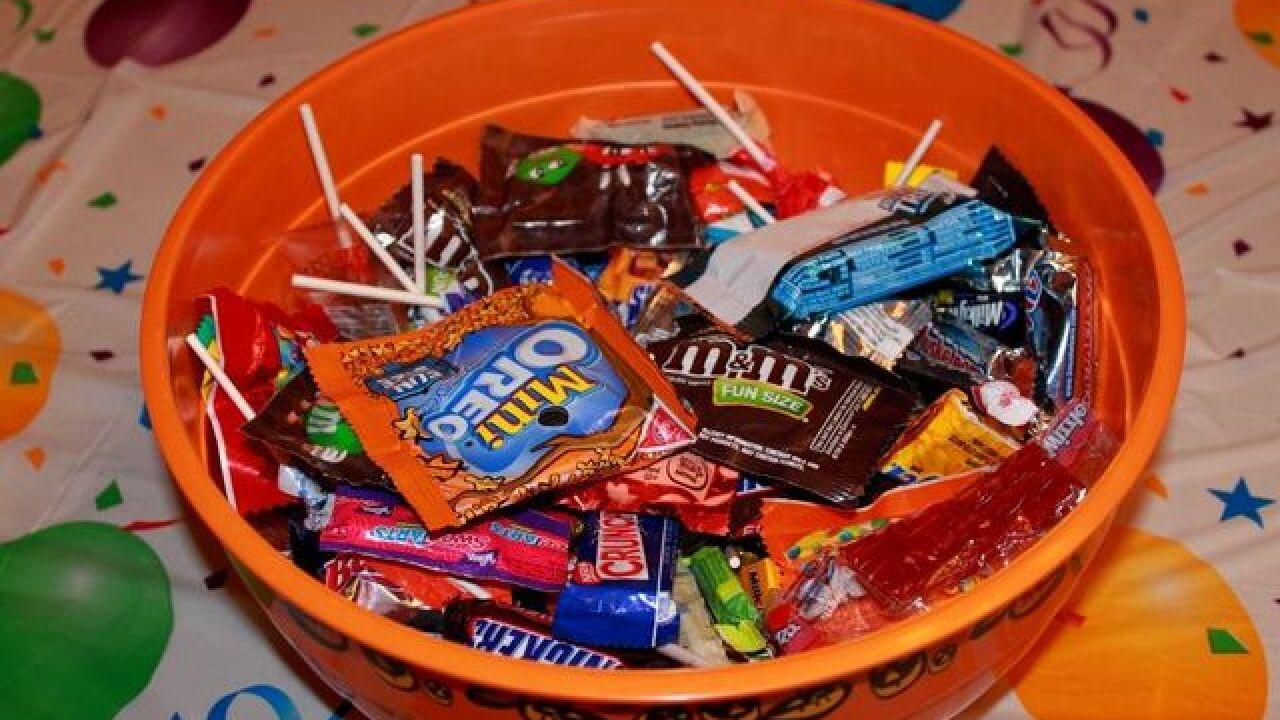 report: needle found in village of hamburg halloween candy