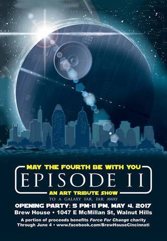 May the Fourth Be with You art tribute show returns