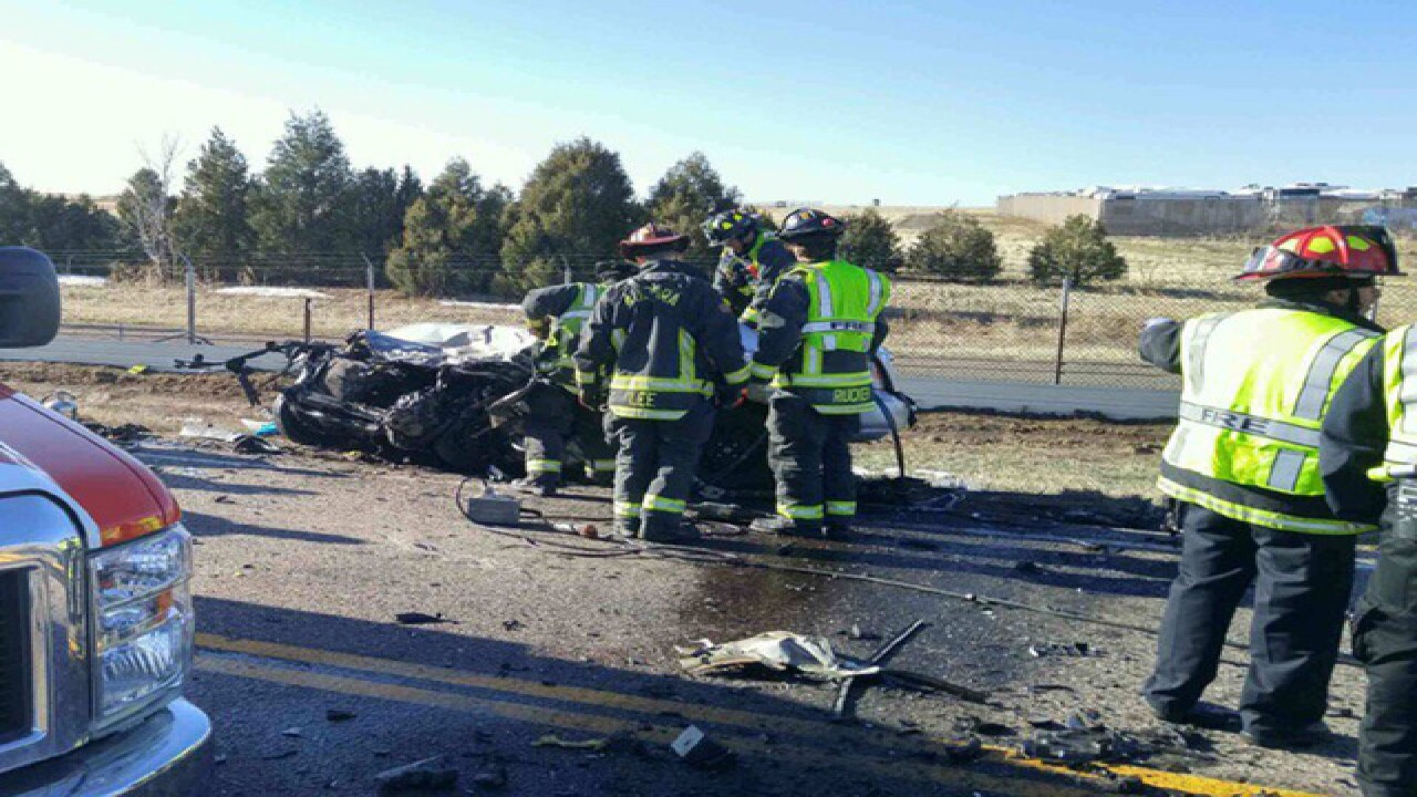 Aurora PD: 1 dead, 3 hurt in head-on car crash