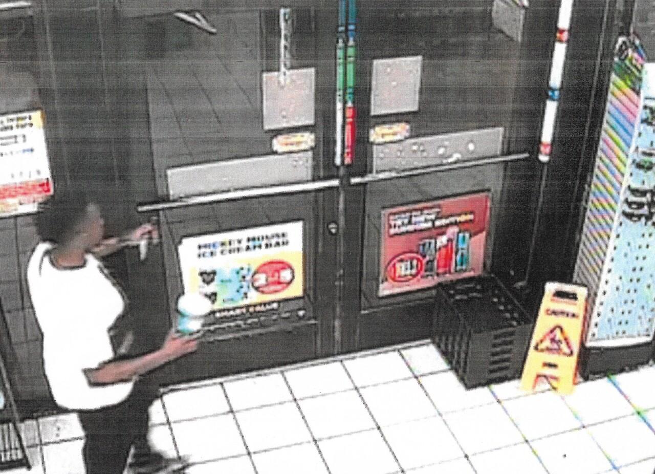 DA evidence - Trayford Pellerin - exit store with knife.jpg