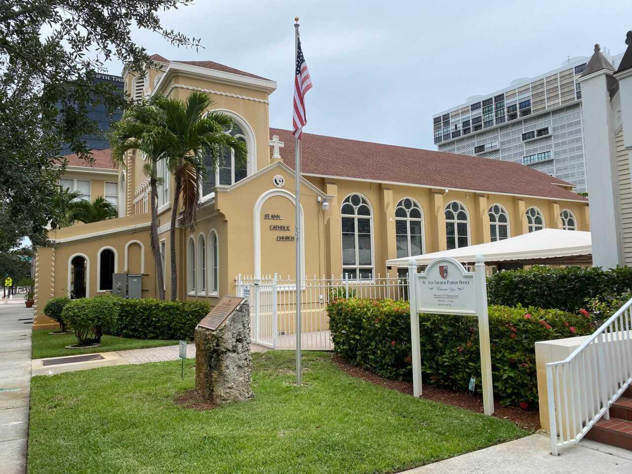 St. Ann Catholic Church and parish office