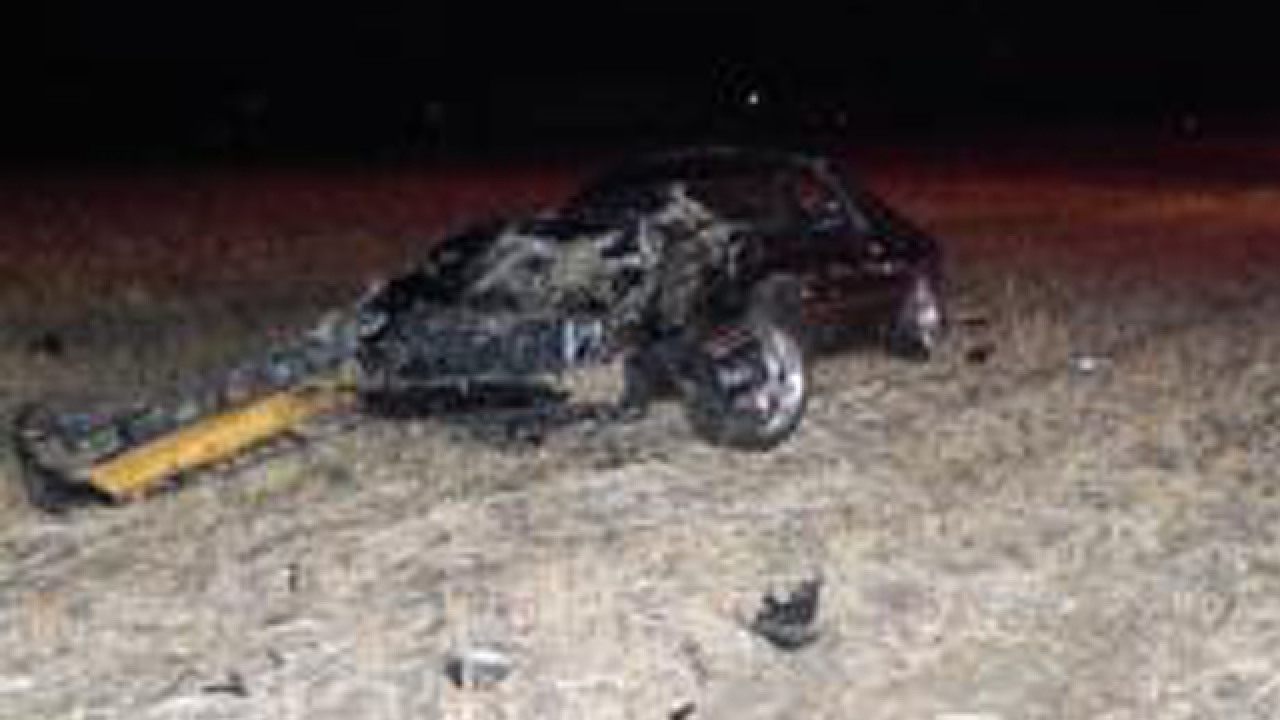 ISP: Man killed in rollover crash in Ind. field