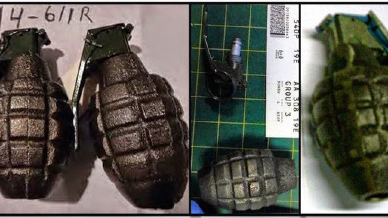 Authorities safely detonate grenade discovered in Cascade trailer