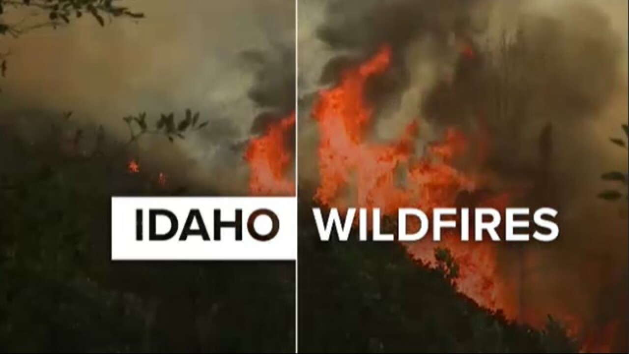 Fire officials lift evacuation order for Dubois, Idaho