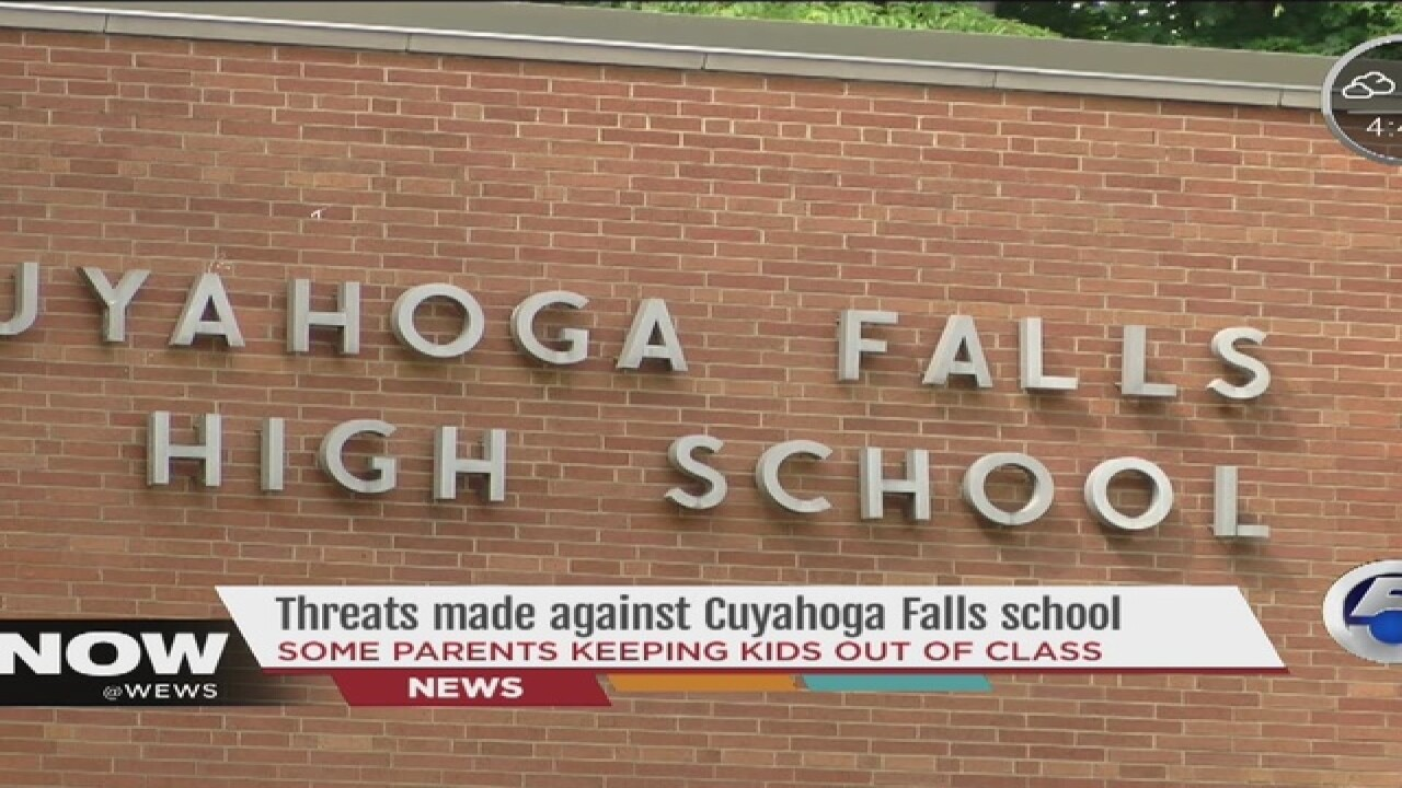 Gun threats prompt parents to keep students home