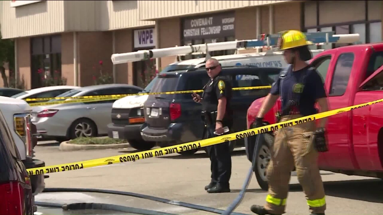 2 arrested in mobile meth lab bust in Colonial Heights shoppingcenter