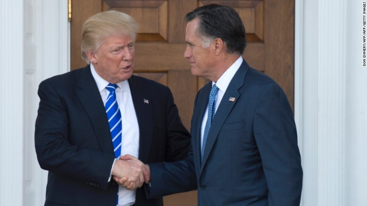 Romney said to be serious about secretary of state job