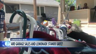 Are garage sales and lemonade stands safe from coronavirus?