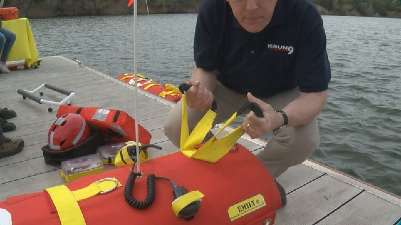 A Sahuarita firm's water rescue robot