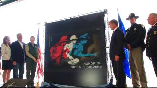 """First responder"" stamp pays tribute to emergency services in Montana unveiling"