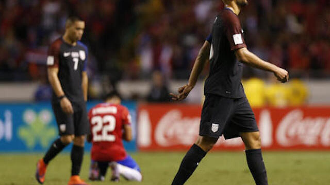 US waylaid by Costa Rica in World Cup qualifying