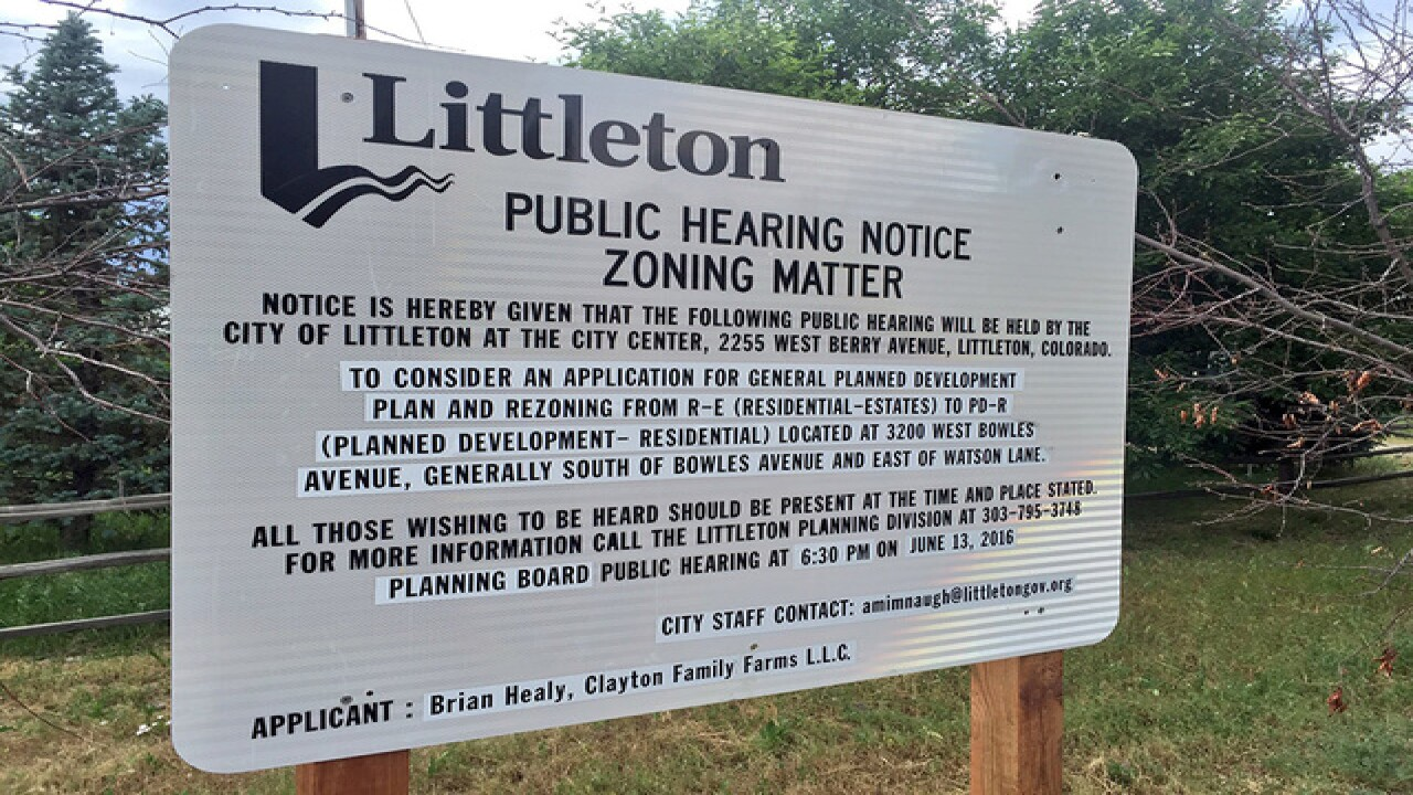 Neighbors stand up against Littleton development