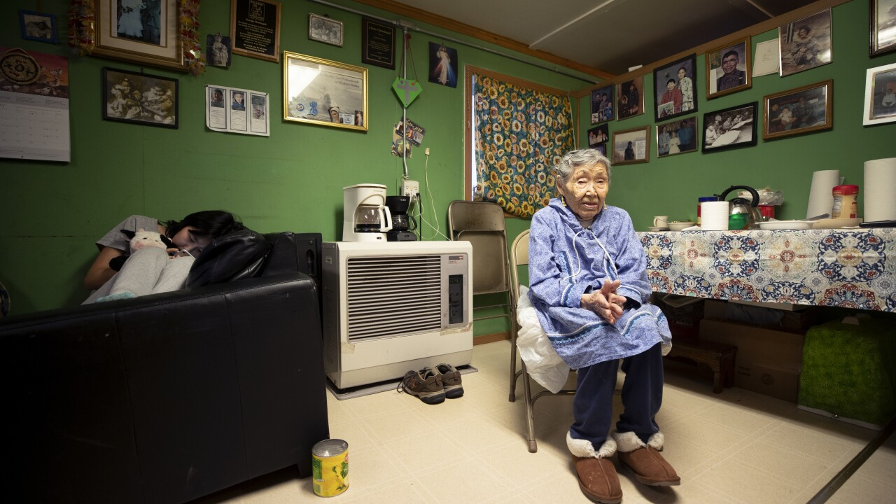 At 90, Alaska Native woman is 1st counted in US Census