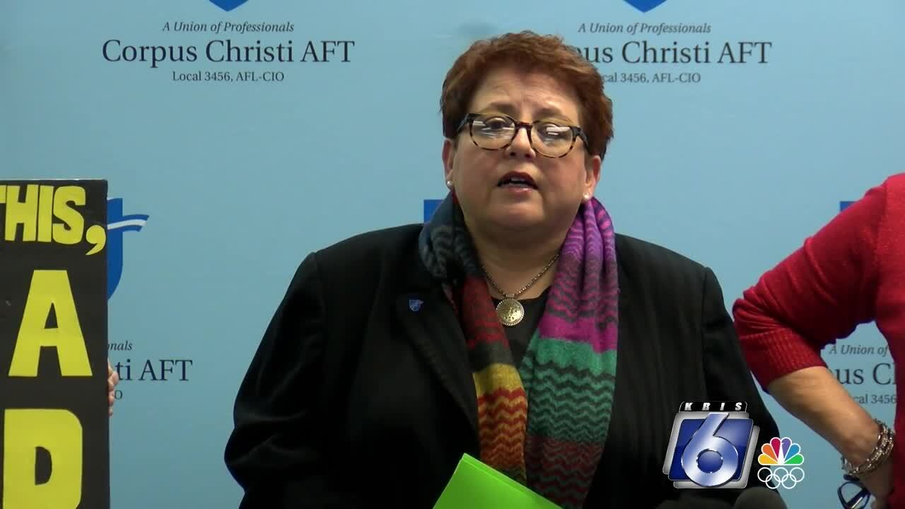CCAFT president concerned about CCISD's COVID plan