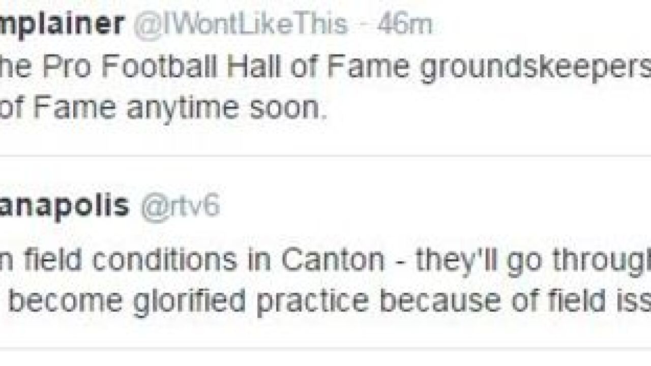 Best reactions to Hall of Fame Game cancellation